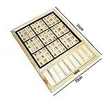 数独 木製 パズル  ナンバープレイス ナンプレ SUDOKU 推理ゲーム 卓上ゲーム 9ブロック  キッズ 子供 教育玩具
