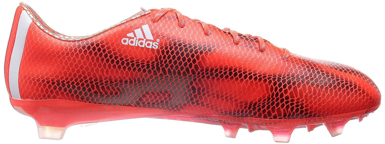 adidas F50 Adizero Herren Fußballschuhe Rot (Solar Red/Ftwr White/Core Black)
