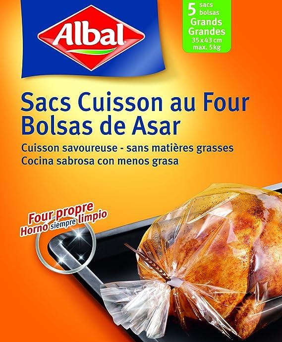 Albal - Aroma, bolsos de horno, pack de 2 (2x 5 unidades ...
