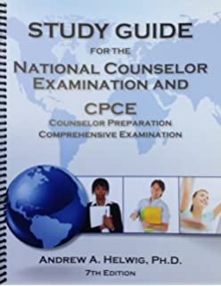 Study Guide for the National Counselor Examination and CPCE