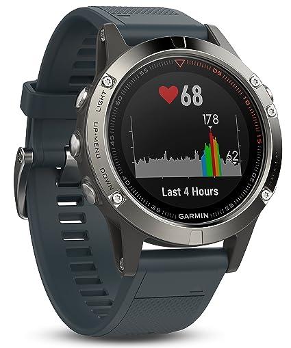Garmin Fenix 5 Reloj GPS Multideporte con navegación al Aire Libre y frecuencia cardíaca basada en