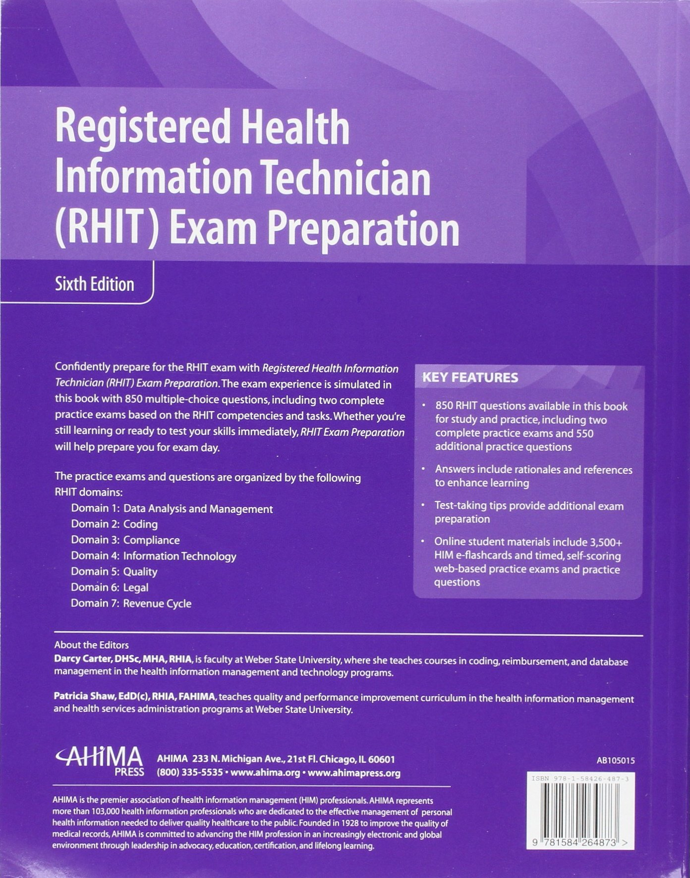 Buy Registered Health Information Technician Rhit Exam Preparation
