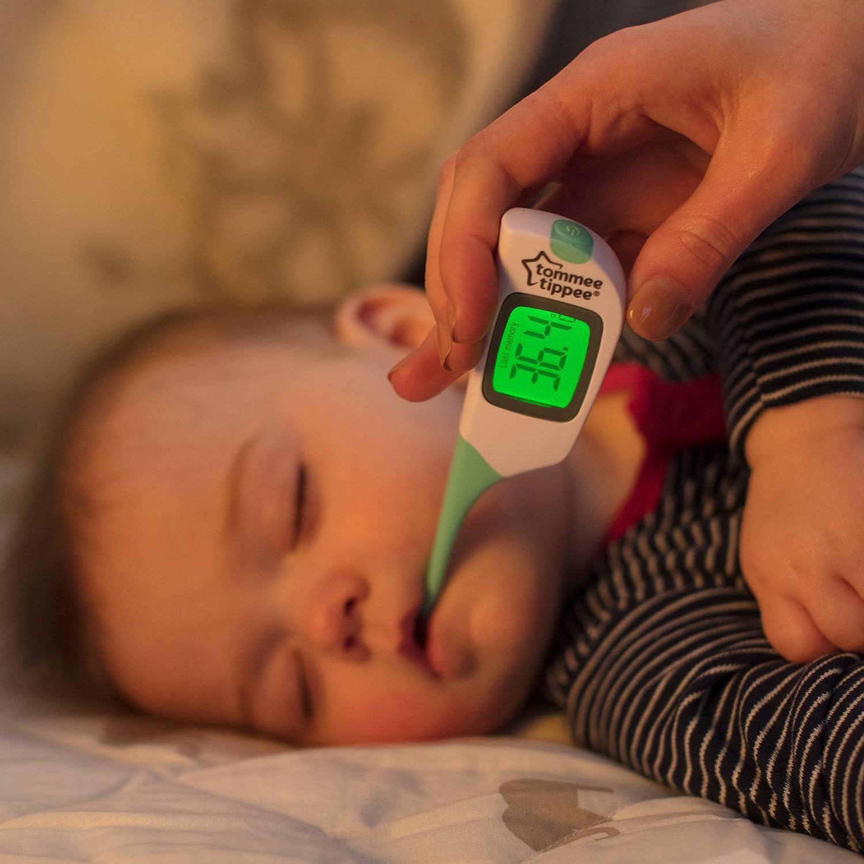 Tommee Tippee 2 en 1 termómetro bebé seguridad BN