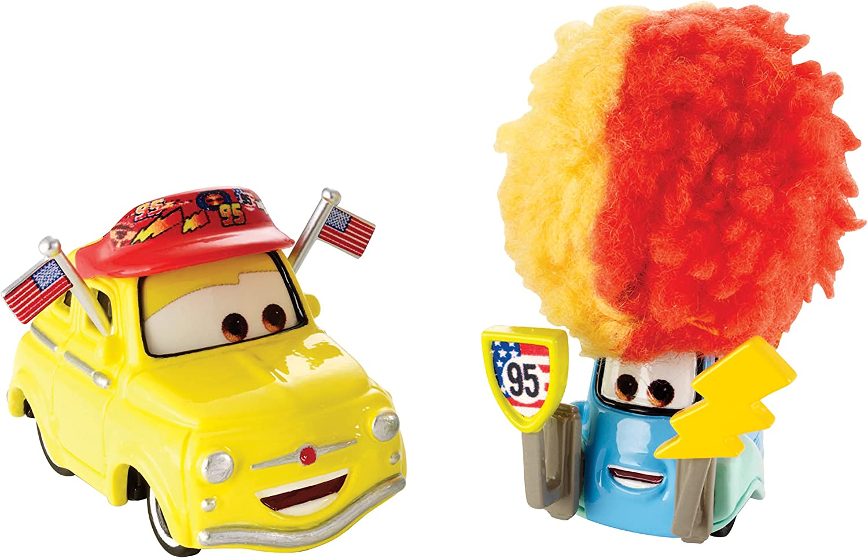 Amazon Com Disney Pixar Cars Luigi Guido Diecast Vehicle Toys