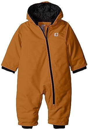 fef1446d7 Amazon.com  Carhartt Baby Boys  CIB Quick Duck Snowsuit  Clothing