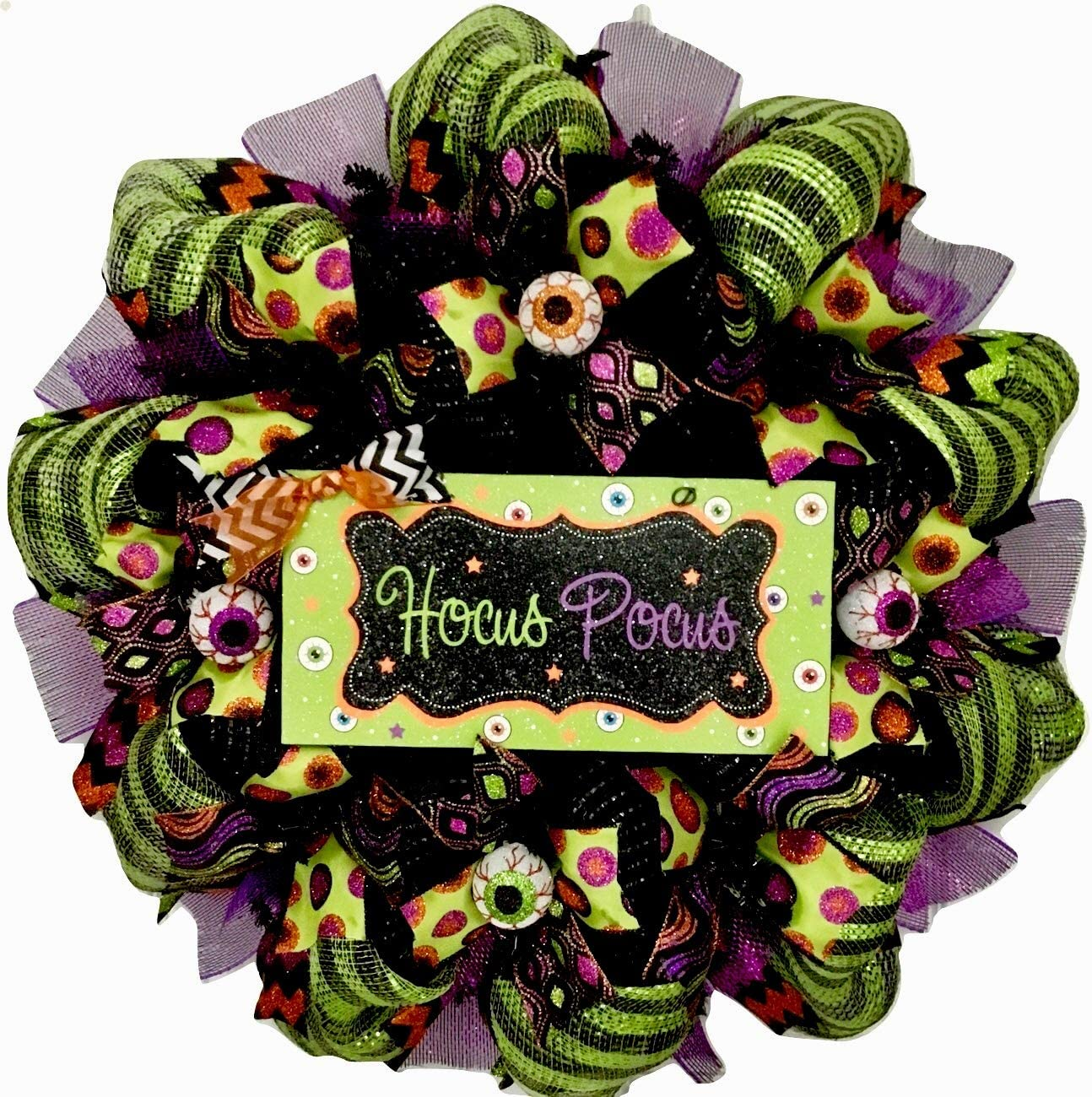 8 ~ Party Supplies HALLOWEEN DISNEY /'Hocus Pocus/' FOIL SMALL PAPER PLATES