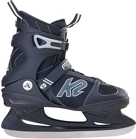 K2 Herren Schlittschuhe FIT ICE - Schwarz-Grau - 25A0000.1.1
