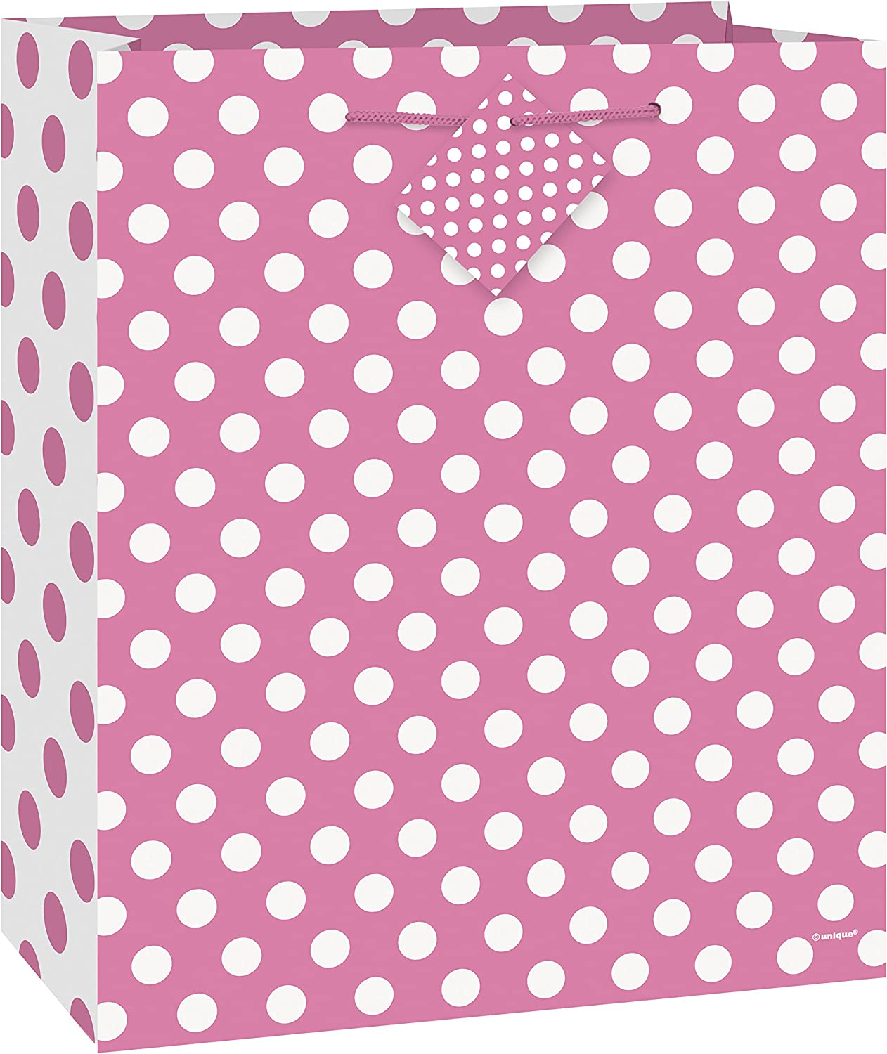 Plastic Baby Blue Polka Dot Tablecloth 9ft x 4.5ft Unique Party 50258