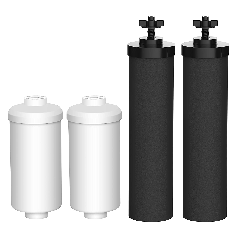 Amazon.com: AQUACREST Replacement for Black Berkey Filters (BB9-2 ...