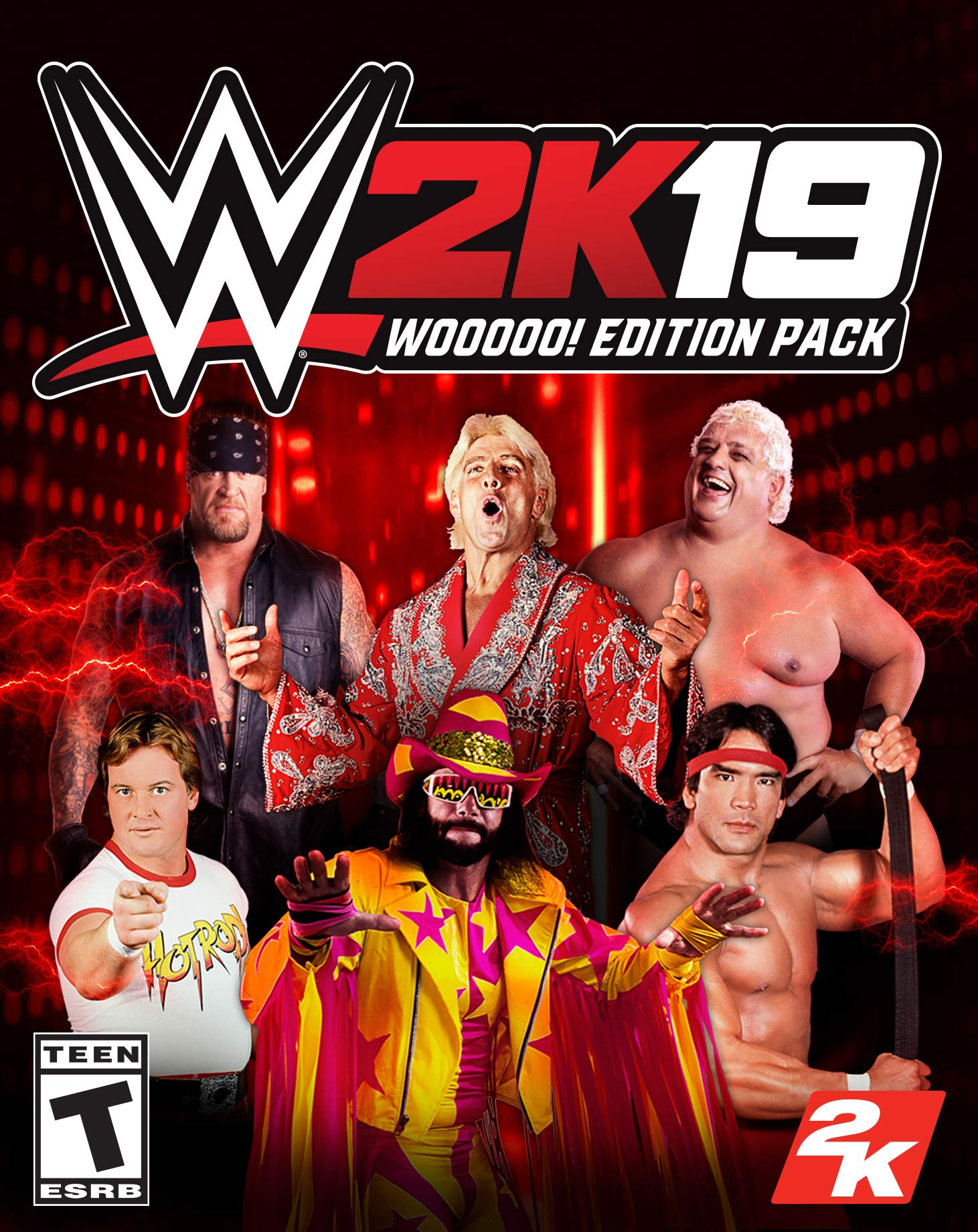 Amazon com: WWE 2K19 Wooooo! Edition Pack! [Online Game Code