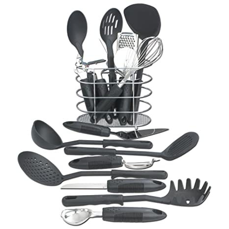 Maxam KTOOL172 17 Piece Kitchen Tool Set by Maxam pSE36h