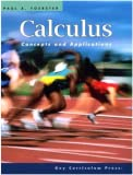 Calculus: Concepts and Applications, Instructor's Resource Book with CD/ROM (Advanced Mathematics)