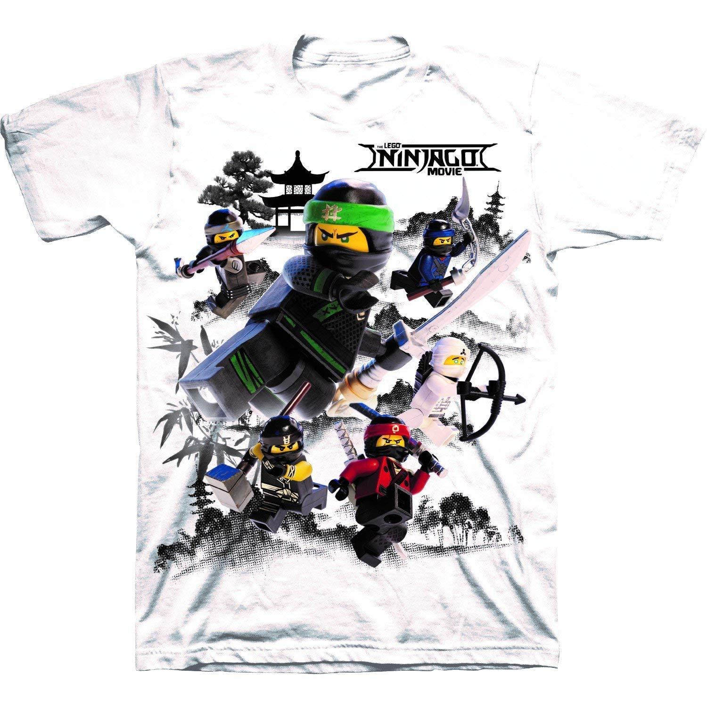 Isaac Morris Lego The Ninjago Movie Little Boys' T-Shirt, White