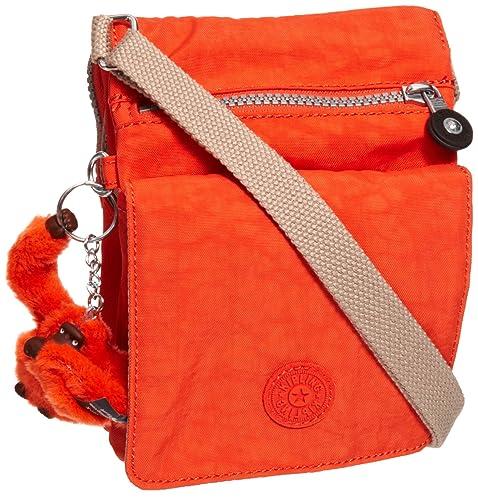 830e8b8af Kipling Eldorado K13732 - Bolsa al Hombro para Mujer, Color Naranja, Talla  2x20x15 cm: Amazon.es: Zapatos y complementos