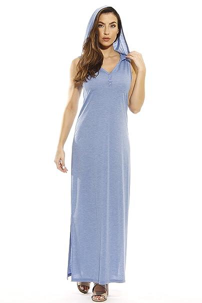 f7565c4ae9b42 Just Love Maxi Hoodie Dress Summer Dresses at Amazon Women s ...