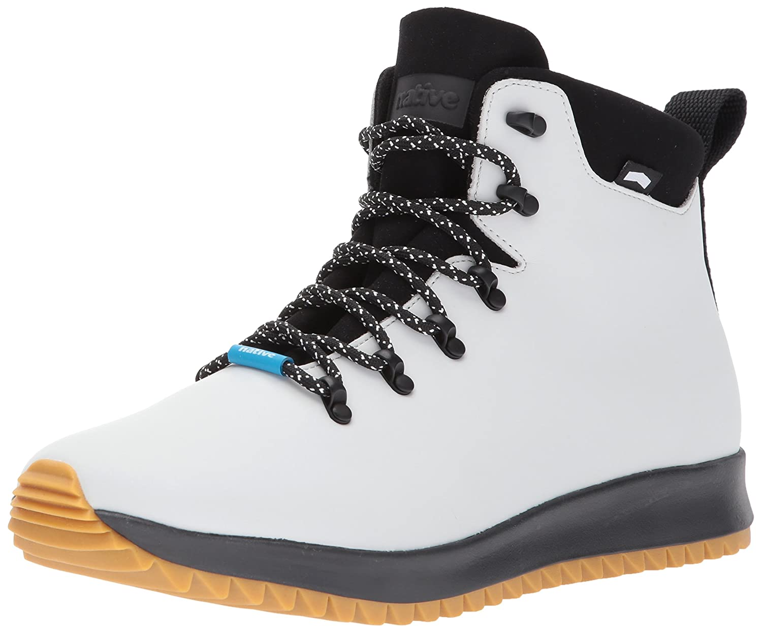 Native Native Native AP Apex CT Mist grau CT Jiffy schwarz NAT Rubber Unisex High-Top Schuhe (Mist grau CT Jiffy schwarz NAT Rubber) 045052
