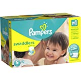 Pampers Swaddlers Disposable Diapers Size 5, 152 Count (One Month Supply)