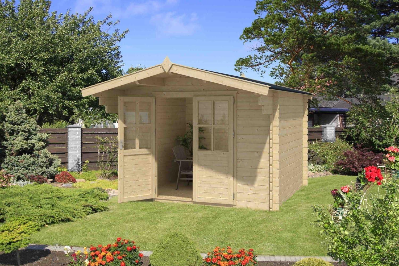 Jardín Casa G197 – 28 mm listones hogar, superficie: 4,70 m², tejado: Amazon.es: Bricolaje y herramientas