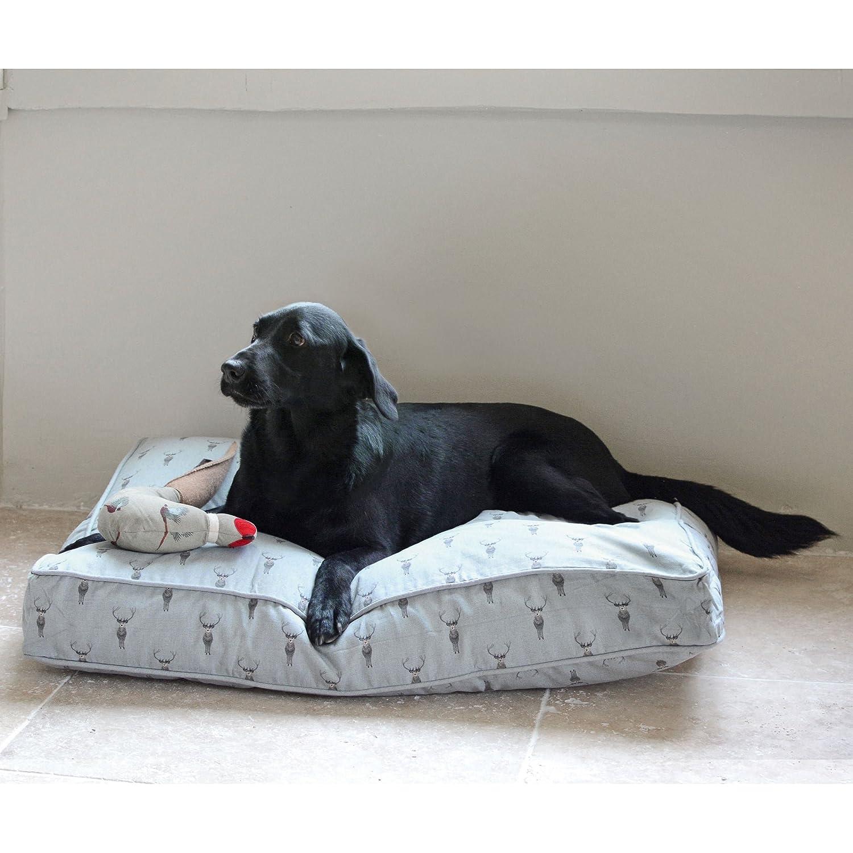 Sophie Allport mascota cama colchón - Highland diseño de ciervo: Amazon.es: Productos para mascotas