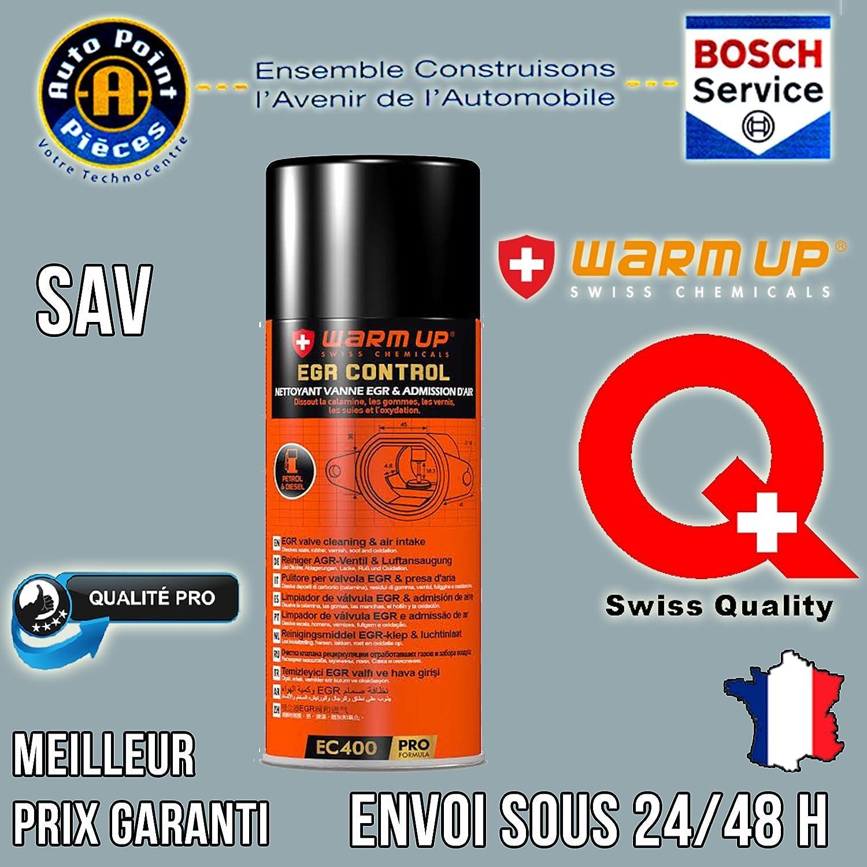 WARM UP EGR Control Pulitore Valvola EGR Curativo e Preventivo 400ml