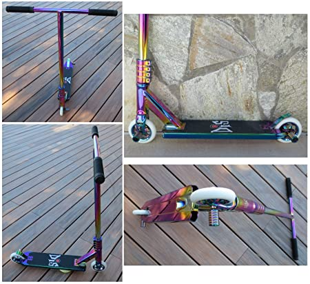 DIS Slick Custom Pro Complete Scooter Professionally Assembled Neochrome