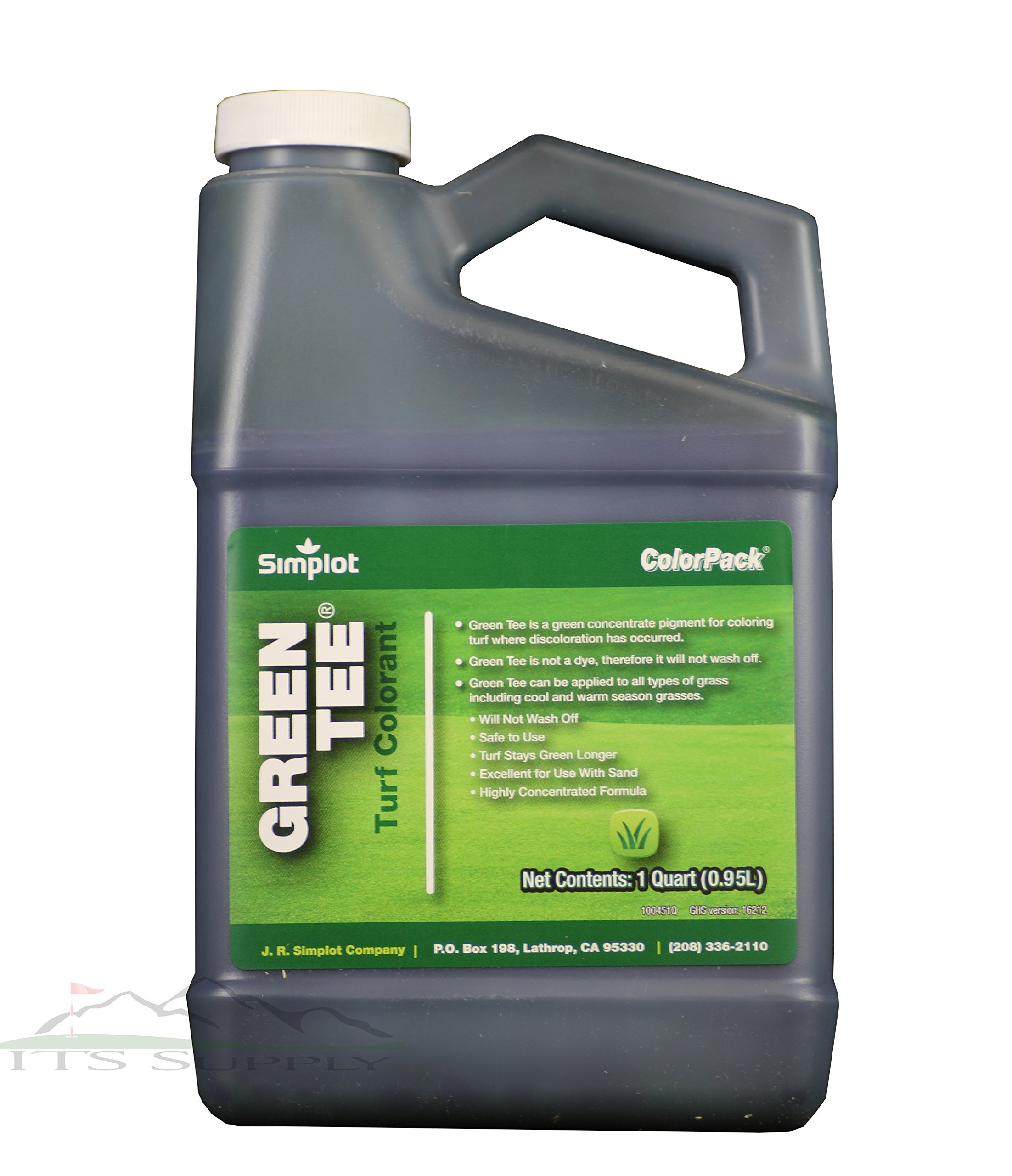 Green Tee Turf Colorant Lawn Paint 1 Quart Covers 1500 to 3000 square feet-Concentrated and professional grade colorant to improve the look of your lawn