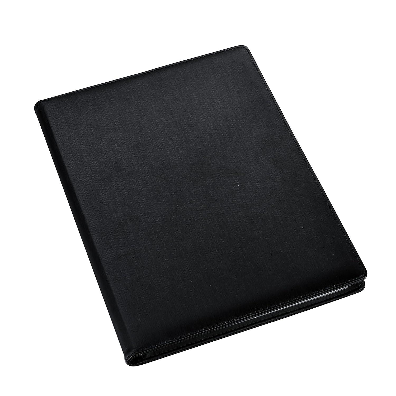 96 lados ideal para presentaciones cuenta con 48 bolsillos entrevistas y curr/ículums trabajos Carpeta profesional Arpan tama/ño A4 de alta calidad