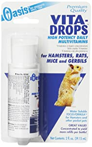 Oasis Vita-Drops High Potency Multi-Vitamins for Hamsters, Rats, Mice & Gerbils