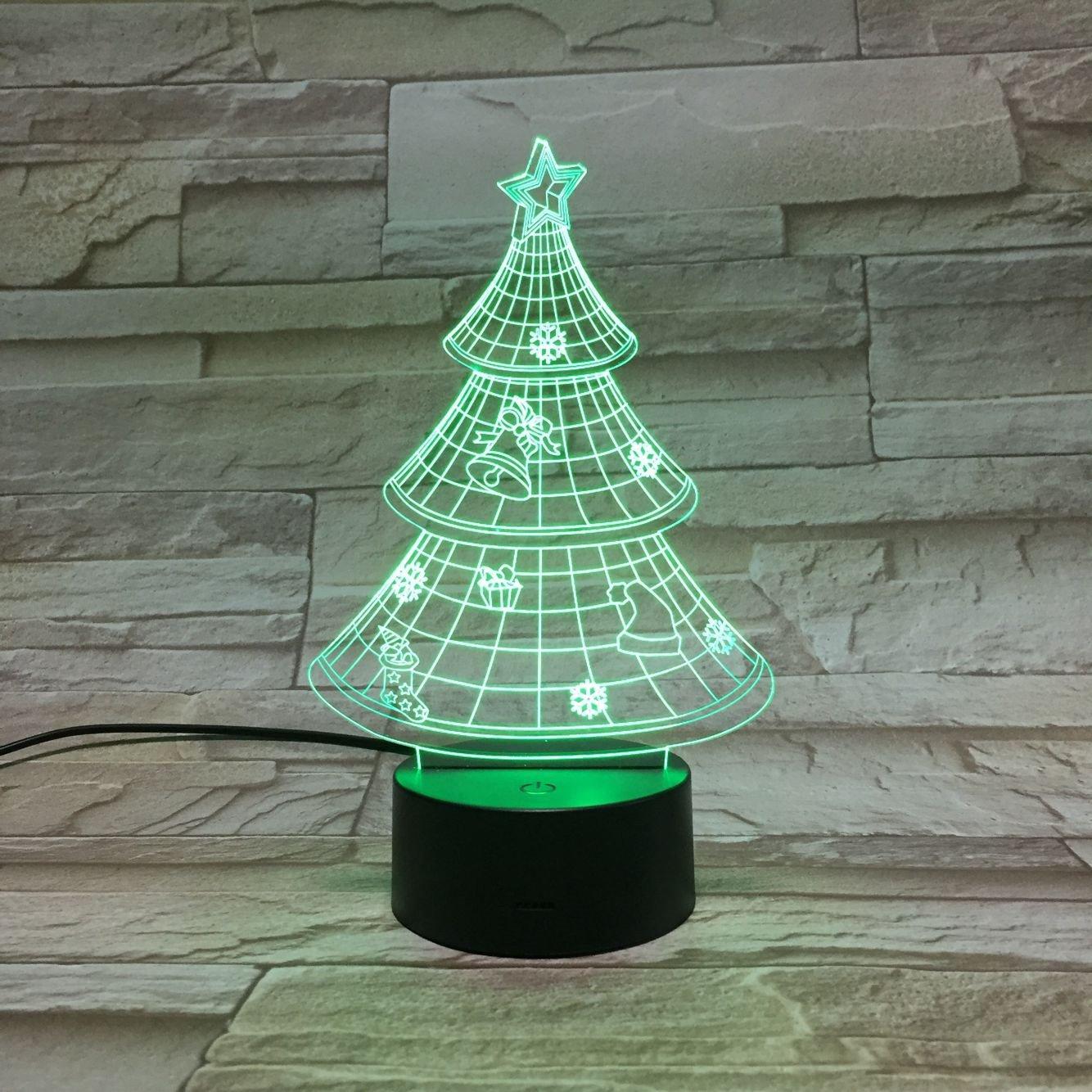 3D ナイトライト B072K3B73N 10609 クリスマスツリー クリスマスツリー