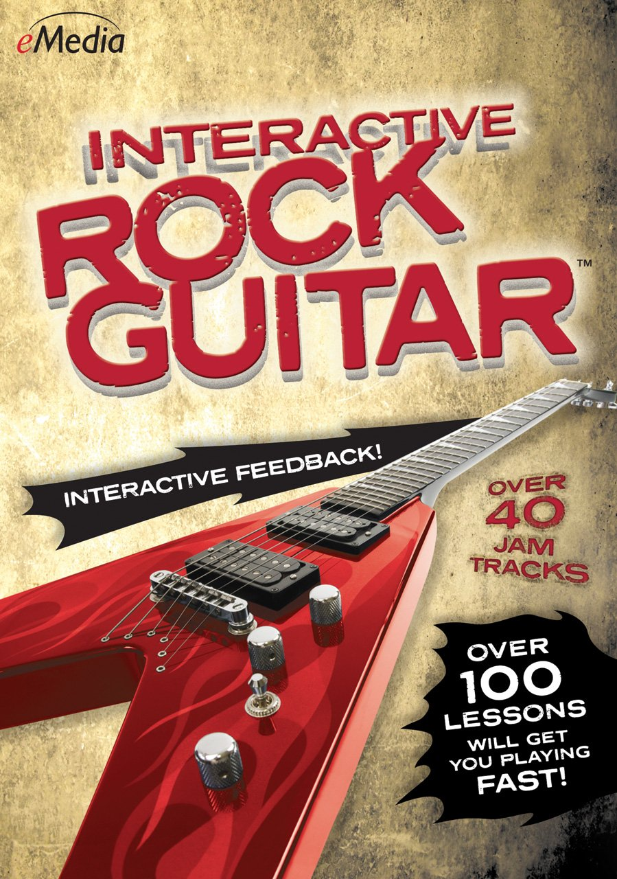 eMedia Interactive Rock Guitar [PC Download] by eMedia