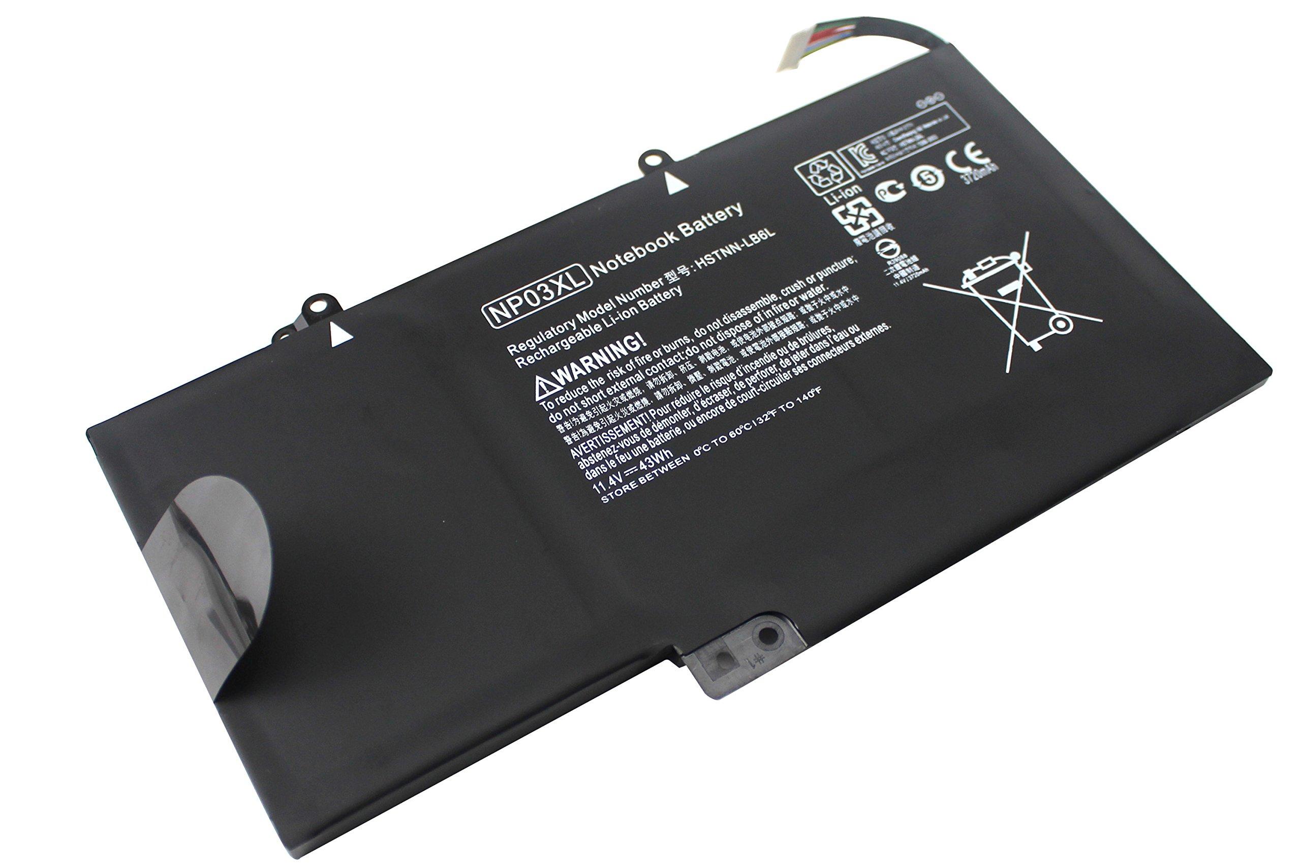 Bateria Np03xl Para Hp Envy X360 15-u010dx 15-u110dx 15-u111dx 15-u050ca Pavilion X360 13-a010dx 13-a110dx 761230-005 76