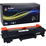 Arthur Imaging Compatible High Yield Toner Cartridge Replacement for Brother TN730/TN760, (NO CHIP, easy instructions included) Black, 1 Pack
