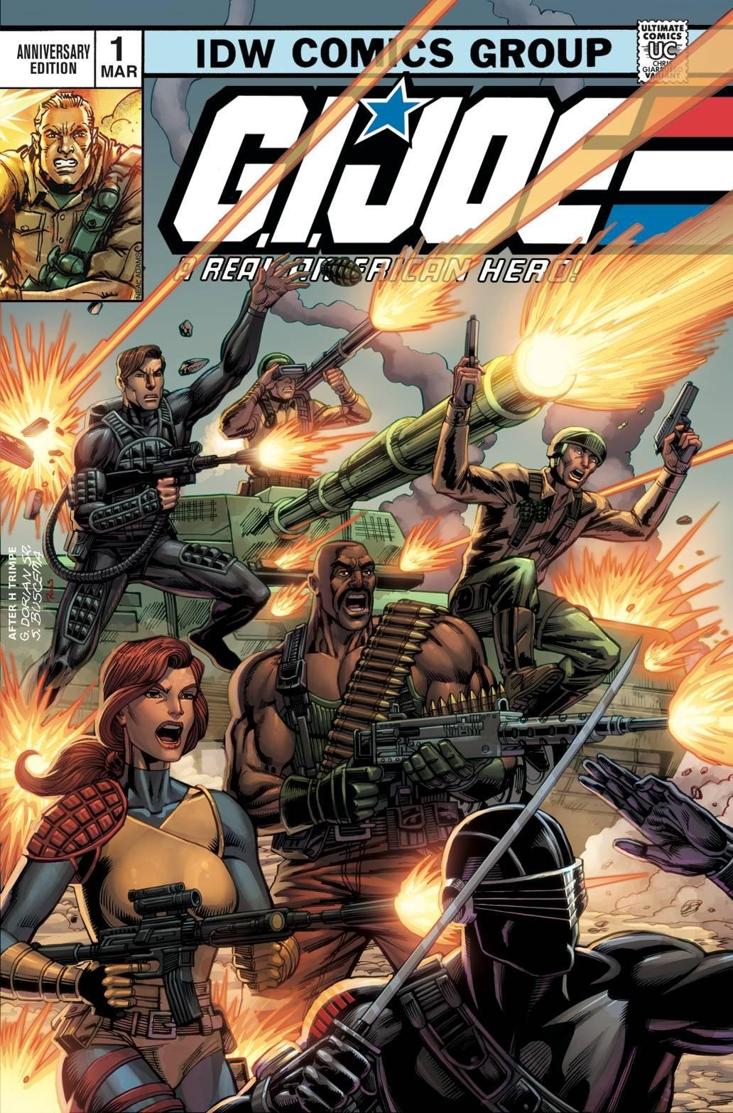 Read Online GI JOE A REAL AMERICAN HERO ANNV ED #1 pdf epub