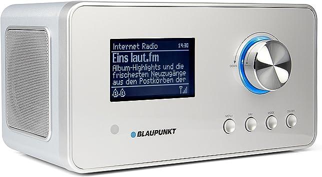 Blaupunkt Ird 30 Internetradio Dab Radio Digitalradio Mit Radiowecker Wlan Küchenradio Digital Radio Als Badradio Dab Ukw Tuner Miniradio In Retro Design Uhrenradio Silber Heimkino Tv Video