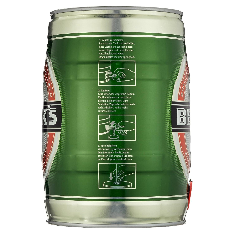Becks Pils, (1 x 5 l): Amazon.de: Bier, Wein & Spirituosen