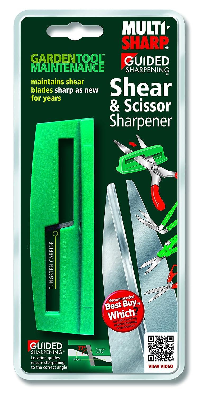 Multi-Sharp 1401 Affilatrice Lama per Cesoie da Giardino e Forbici
