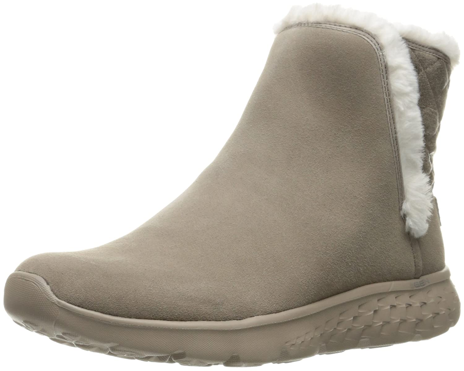 Skechers Performance Women's On The Go 400 Cozies Winter Boot B01B2VO5DS 8.5 B(M) US|Taupe