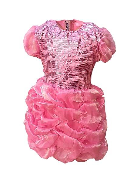 e9e52c8c7 Kaku Fancy Dresses Pink Gown for Kids