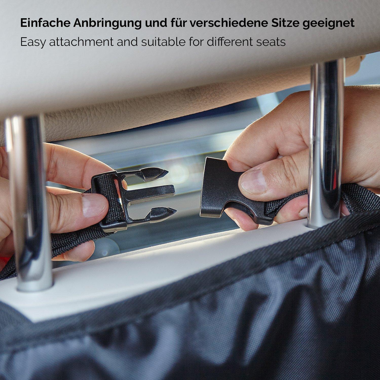 car seat protector non slip car seat cover CARTECO Comfy Car Seat Cover in black baby car seat covers