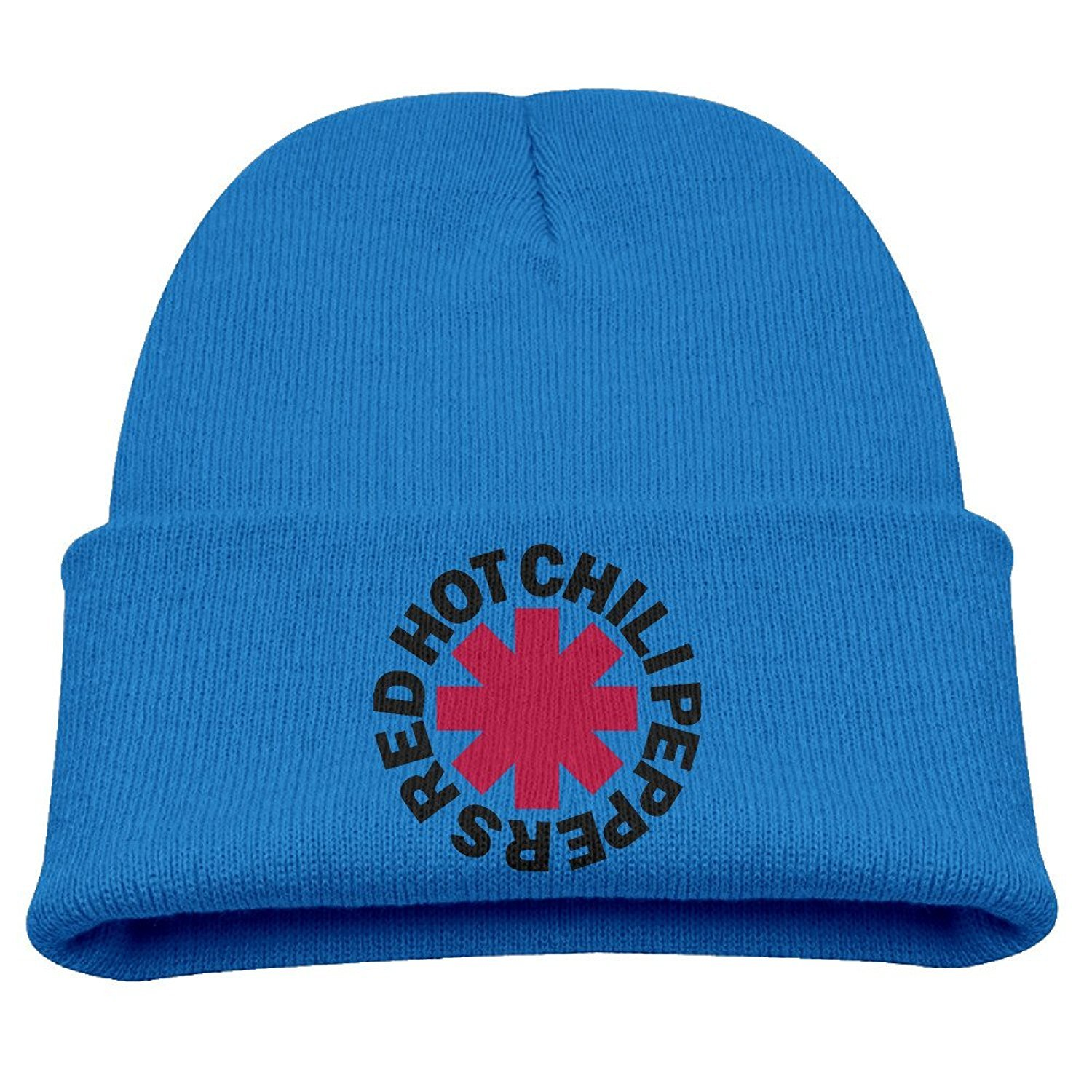 2e2318cb5 Amazon.com: Kids Red Hot Chili Peppers RoyalBlue Knitted Hat Beanies ...