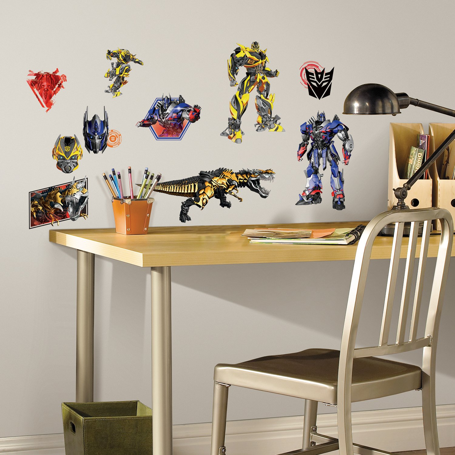 RoomMates Transformers: Age Of Extinction Peel And Stick Wall Decals      Amazon.com