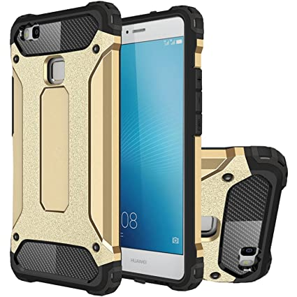 Amazon.com: uberant Huawei P9 lite case híbrido Heavy Duty ...