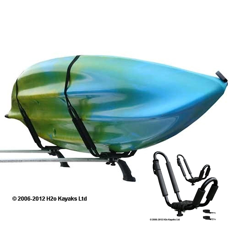 Ruk Sport Kayak Roof Rack Carrier (Set 2) Ruk Sports UY1616/1