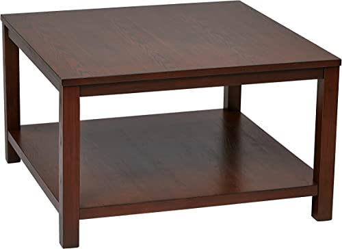 OSP Home Furnishings Merge Square Coffee Table