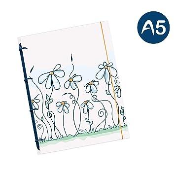 Schaar de diseño flexinotes® Cuaderno A5 recargable con registro ...