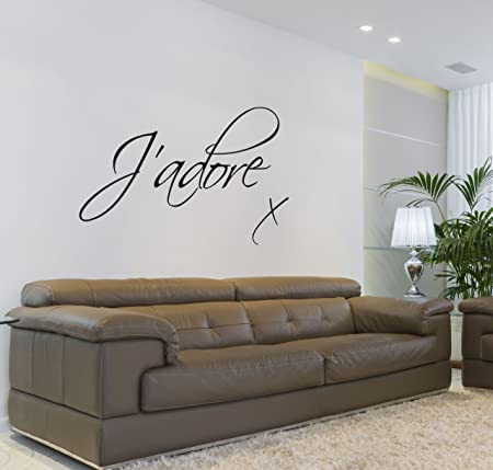 Vu0026C Designs Ltd (TM) Ju0027adore Love Quote Lounge Living Room Bedroom Wall