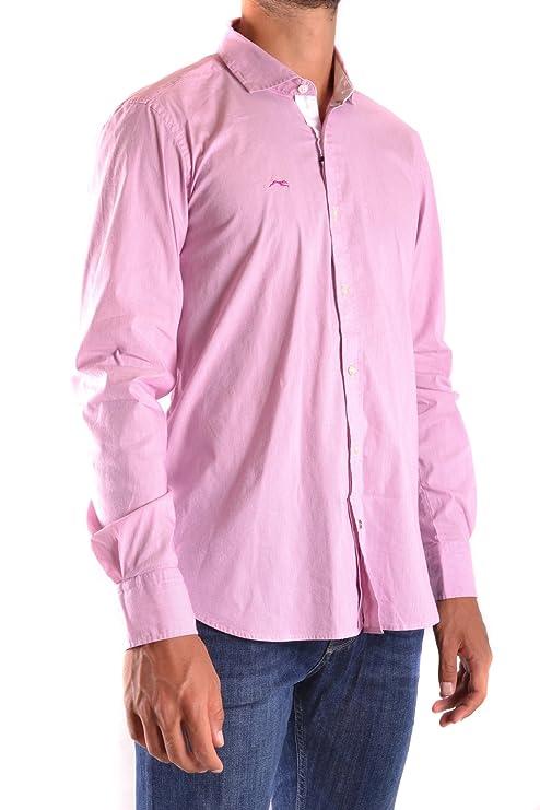 Etiqueta Negra Herren Mcbi118090o Rosa Baumwolle Hemd: Amazon.de: Bekleidung
