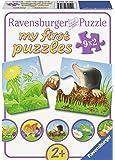 Ravensburger - Mi primer puzzle: Animales del prado, 2 piezas (07313 9)