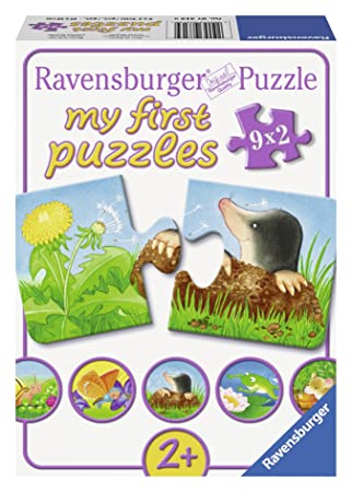 garden animals my first puzzle 2 piece - Garden Animals