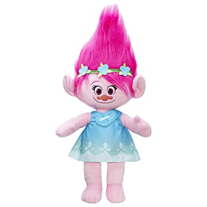 amazon com trolls dreamworks poppy large hug n plush doll toys